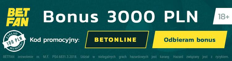 legalny bukmacher betfan oferta bonusów